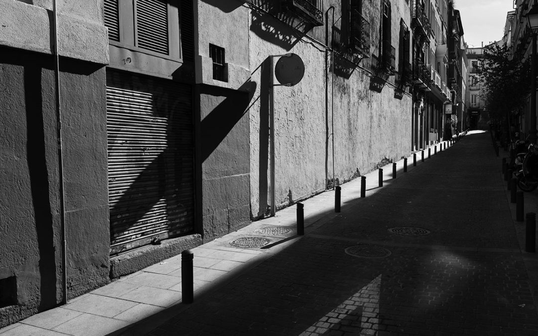 Yield to the shadow – Madrid Spain