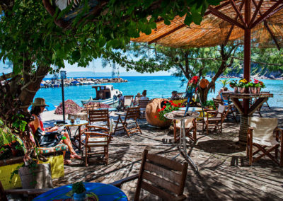 The Cafe – Lesbos Greece